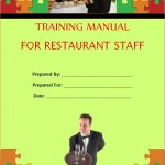 restaurant training manual template .